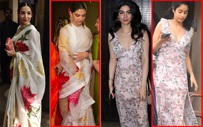 Outfit Repeat Alert At Sonam Kapoor's Birthday Bash: Malaika Arora Does A Deepika Padukone; Khushi Borrows Sister Janhvi's Dress