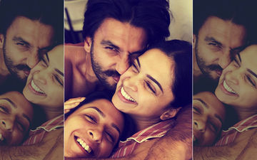 Deepika And Anisha Padukone Being Cuddled By Ranveer Singh- A Picture Perfect Moment!