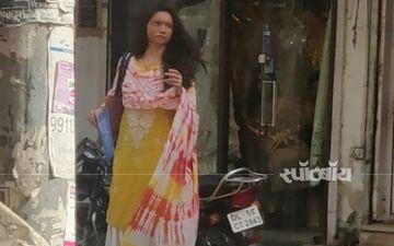 एक बार फिर दिल्ली की सड़कों पर शूटिंग करती दिखी दीपिका पादुकोण, पहचान पाना मुश्किल