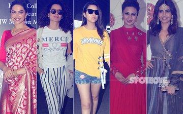 STUNNER OR BUMMER: Deepika Padukone, Kangana Ranaut, Parineeti Chopra, Divyanka Tripathi Or Karishma Tanna?