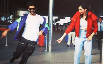 Deepika Padukone And Kartik Aaryan Trolled For Their Airport Dance Stunt; Netizens Call Them 'Attention Seekers'