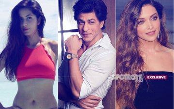 WAR CONTINUES: Deepika Padukone & Katrina Kaif INGORE Each Other ROYALLY At Shah Rukh Khan's Birthday Bash