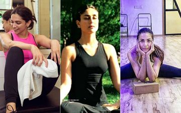 Fit India Movement: Deepika Padukone, Kareena Kapoor Khan And Malaika Arora Swear By Yoga For Everyday Fitness