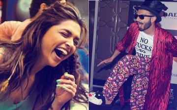 OOPS! Did Deepika Padukone Just MOCK Boyfriend Ranveer Singh's Fashion Sense?
