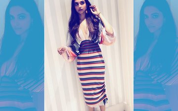Cannes 2018: Can We 'Stripe'-Off Deepika Padukone's 2nd Look For The Day?