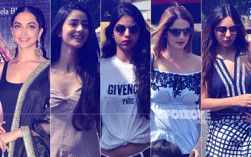 STUNNER OR BUMMER: Deepika Padukone, Ananya Pandey, Suhana Khan, Sussanne Khan Or Gauri Khan?