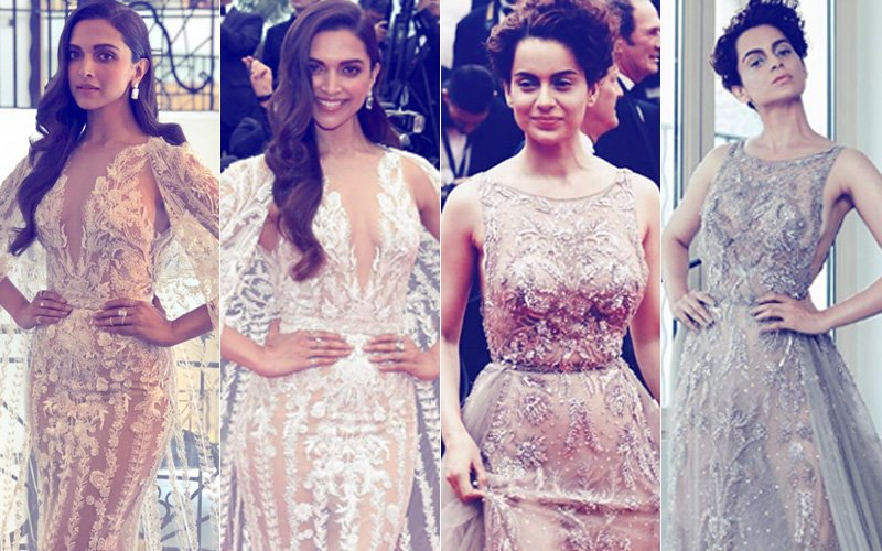 Cannes 2018: Deepika Padukone & Kangana Ranaut- That's How You Conquer The Red Carpet!