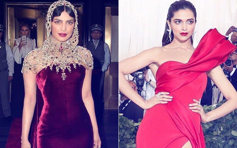 Met Gala 2018: Priyanka Chopra's Outfit Is Fodder For Fashion Police, Deepika Padukone Plays It Safe