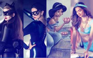 Deepika Padukone's Fans Compare Her To Disney Characters & The Results Are Stunning!