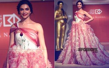 OOPS! Deepika Padukone Looks Like A Red-White Carnation Garden