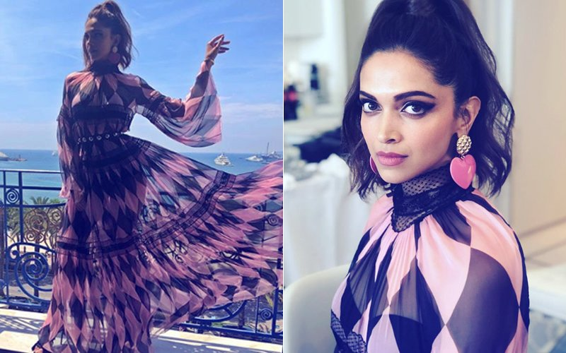 Cannes 2018: Deepika Padukone Wants To Fly Like A Butterfly In This Printed Maxi