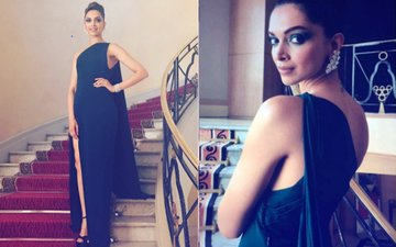 Cannes Film festival 2017: Deepika Padukone Stuns In A Sexy Green Gown But What About Her Eye Shadow?