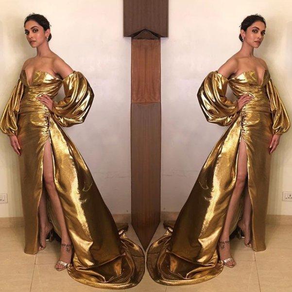 deepika padukone at lux golden rose awards