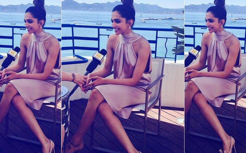Cannes Film Festival 2017: Deepika Padukone Rocks The Braless Look In Plunging Number