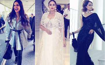 Cannes 2018: Deepika Padukone Goes Casual, Kangana Ranaut's Debut Is Retro & Huma Qureshi Plays Safe