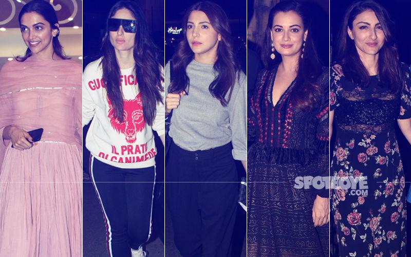 STUNNER OR BUMMER: Deepika Padukone, Kareena Kapoor, Anushka Sharma, Dia Mirza Or Soha Ali Khan?