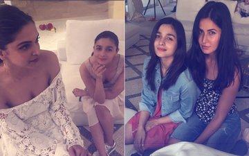 Deepika Padukone Enters Shah Rukh Khan's Birthday; Face-Off With Katrina Kaif NOT Far Away...