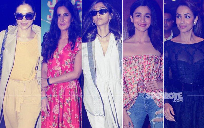 STUNNER OR BUMMER: Deepika Padukone, Katrina Kaif, Sonam Kapoor, Alia Bhatt Or Malaika Arora?