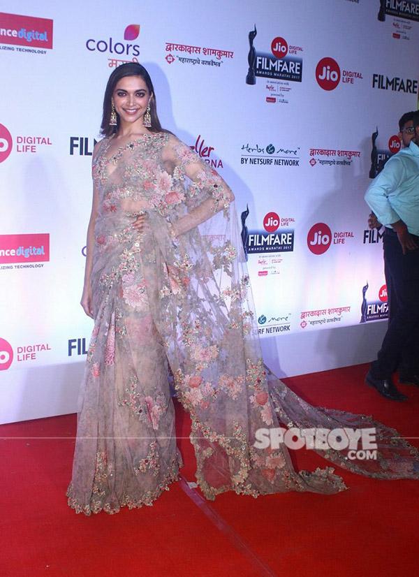 deepika padukone looks gorgeous in her indian avatar