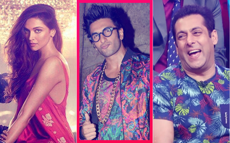After Deepika Padukone, Now Salman Khan Mocks Ranveer Singh's Outrageous Dressing Style