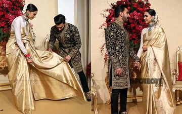 Deepika Padukone-Ranveer Singh Bengaluru Reception:  You Can't Afford To Miss These Candid Pictures From Last Night