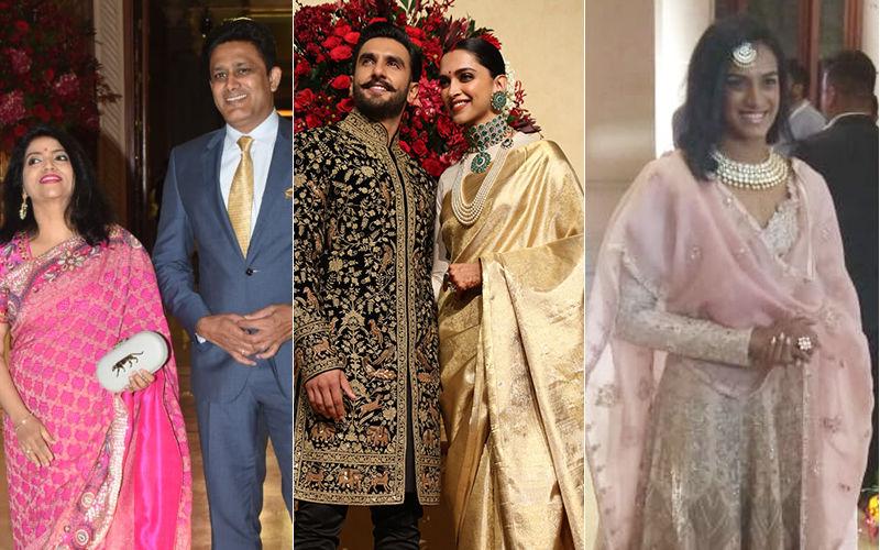 Deepika Padukone-Ranveer Singh Bengaluru Wedding Reception: Anil Kumble, Venkatesh Prasad, PV Sindhu, Pullela Gopichand Join The Celebration Game