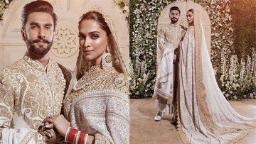 दीपिका पादुकोण और रणवीर सिंह के रिसेप्शन की पहली तस्वीरें आई सामने, गजब के खूबसूरत लग रहे हैं दोनों