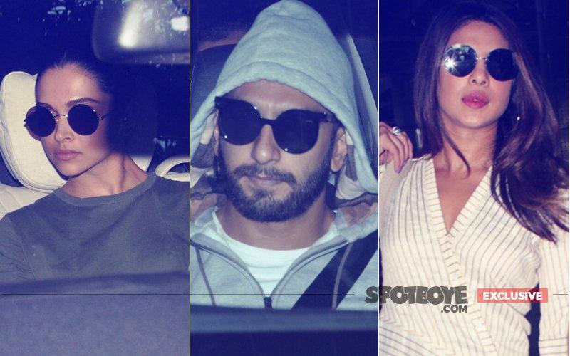 What Were Deepika Padukone, Ranveer Singh & Priyanka Chopra Doing At A Juhu 5-Star Hotel, Last Night?