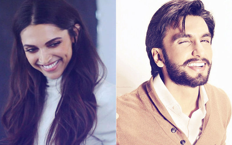 Deepika Padukone's Infectious Smile Is Making Ranveer Singh's Heart Melt!