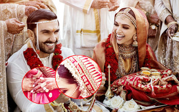 Deepika Padukone's Chunari Embroidered In Gold, Engagement Ring Worth Crores And A Million Dollar Smile- A 'Price'less Bride, Indeed!