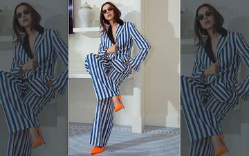 Deepika Padukone's Day 2 Look At Cannes 2019: Actress Chooses Blue And White Stripes For A Sunny Afternoon