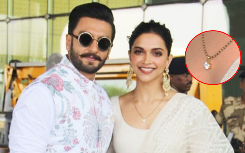 Deepika Padukone's Mangalsutra Is Just As Elegant As The New Bride- Simplicity At Its Best!