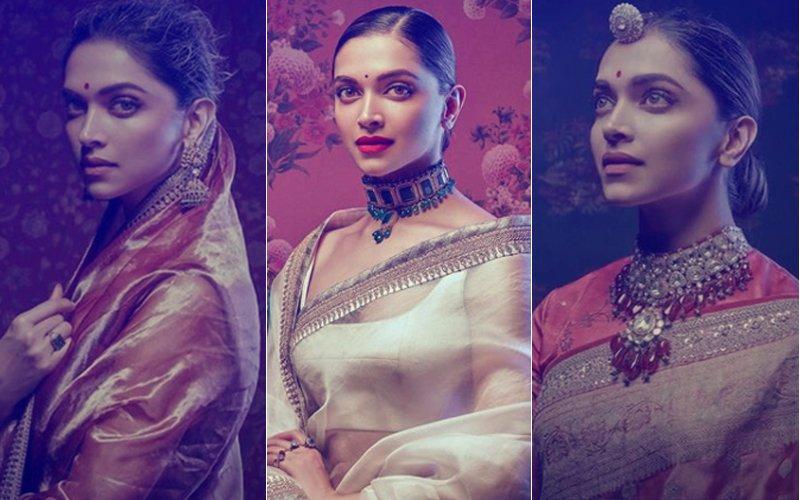 PICS: Deepika Padukone Turns Muse For Designer Sabyasachi