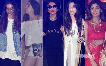 STUNNER OR BUMMER: Deepika Padukone, Sara Ali Khan, Aishwarya Rai Bachchan, Kriti Sanon Or  Shilpa Shetty?