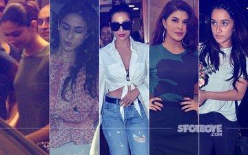STUNNER OR BUMMER: Deepika Padukone, Sara Ali Khan, Malaika Arora, Jacqueline Fernandez Or Shraddha Kapoor?