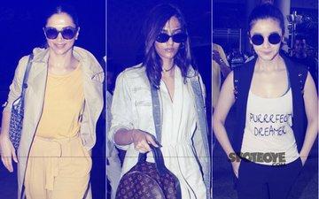 Deepika Padukone, Sonam Kapoor, Alia Bhatt Tell You How To Travel In Style