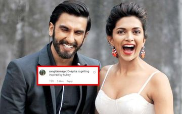 "Deepika Padukone Tells Paps ""Aaja Baith Jaa""; Netizens Term It As Ranveer Singh's Influence"