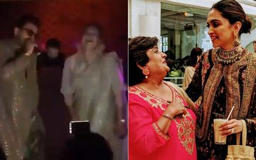 Deepika Padukone-Ranveer Singh Dance Like No One's Watching; Singh Steals A Chance To Rap At Friend's Sangeet Ceremony