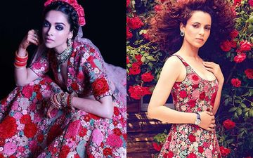 Deepika Padukone Vs Kangana Ranaut Fashion Face-Off: Who Wore The Sabyasachi Creation Better?