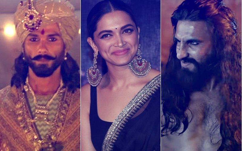 Has Deepika Padukone Been PAID MORE than Shahid Kapoor & Ranveer Singh In Padmavati?
