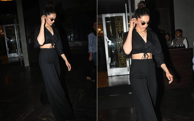 Deepika Padukone Shows Us How To Slay In An 'All-Black Chic Look' - See Pictures