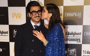 Chhapaak Premiere: Laxmi Agarwal, Rekha, Bhumi Pednekar, Others Support Padukone; Dazzling Deepika Kisses A Dapper Ranveer Singh