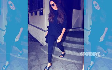 SPOTTED: Deepika Padukone Redefines Casual Cool In An All-Black Outfit
