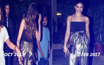 OUCH! Deepika Padukone Wears The EXACT SAME Outfit She Recently Got Trolled For