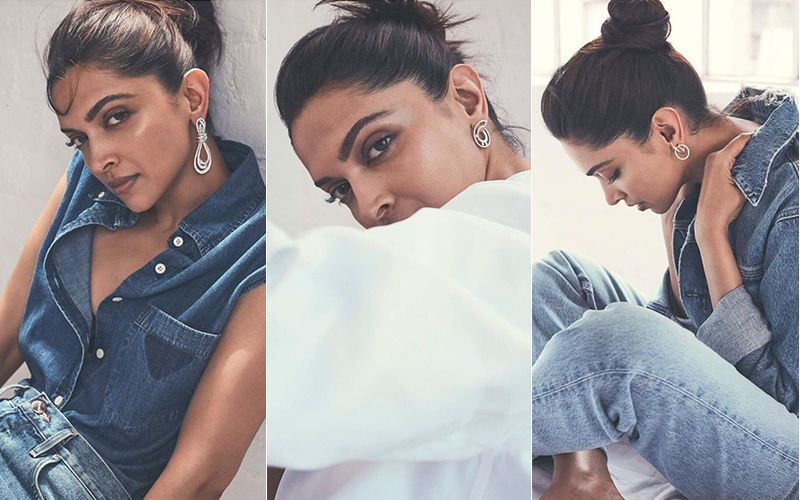 Deepika Padukone Is 'Shining Bright Like A Diamond' As She Wears 'A Whole Lot Of Denim! - See Pictures