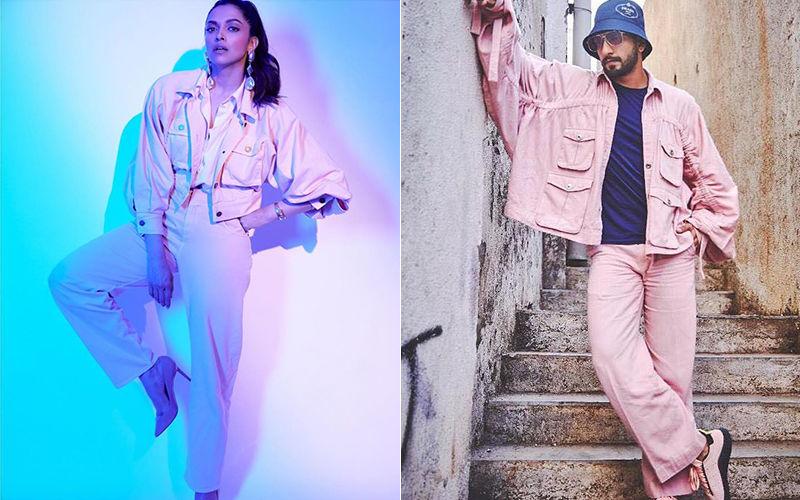 Did Deepika Padukone Just Wear Ranveer Singh's Jacket For A Photo Shoot?