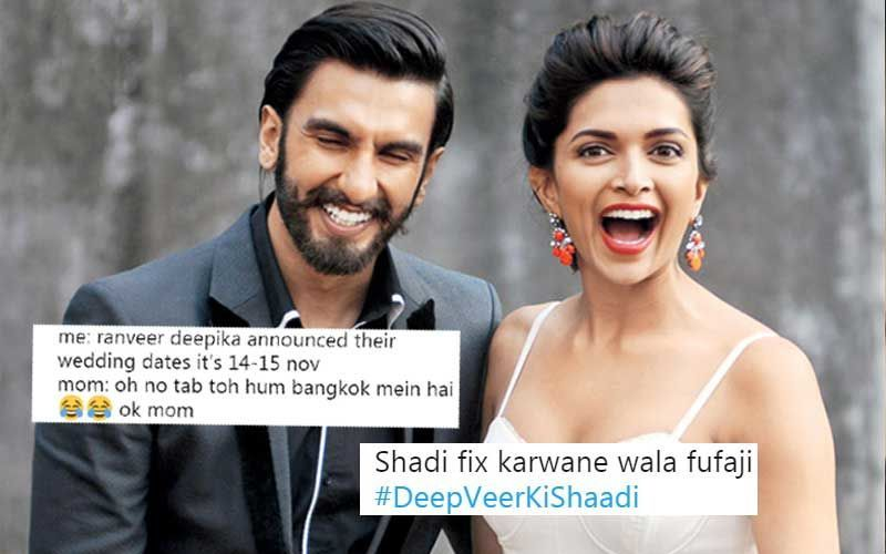 दीपिका पादुकोण और रणवीर सिंह की शादी हुई तय, इंटरनेट पर ऐसे बन रहा है मीम