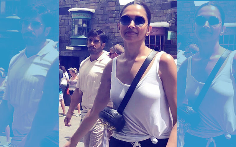 Video: Deepika Padukone & Ranveer Singh Spotted Vacationing In Florida