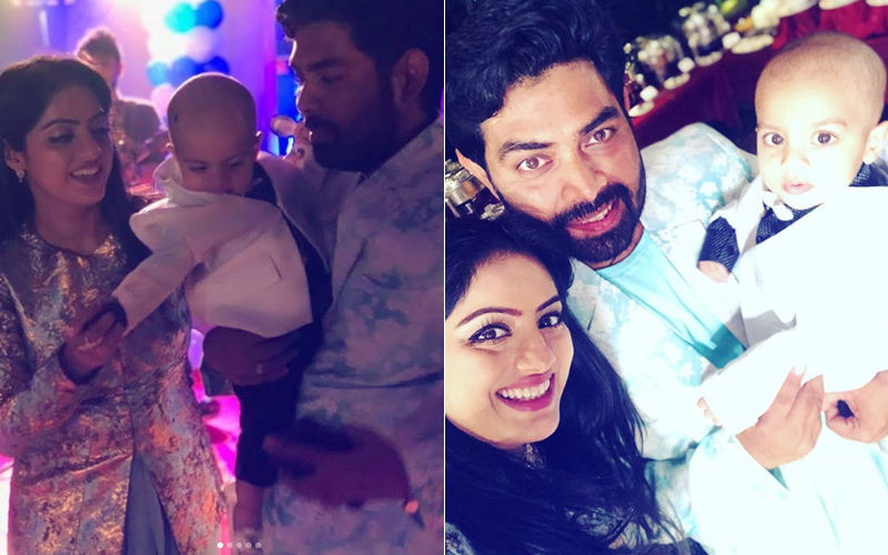 Inside Pics: Deepika Singh Celebrates Son, Soham's First Birthday