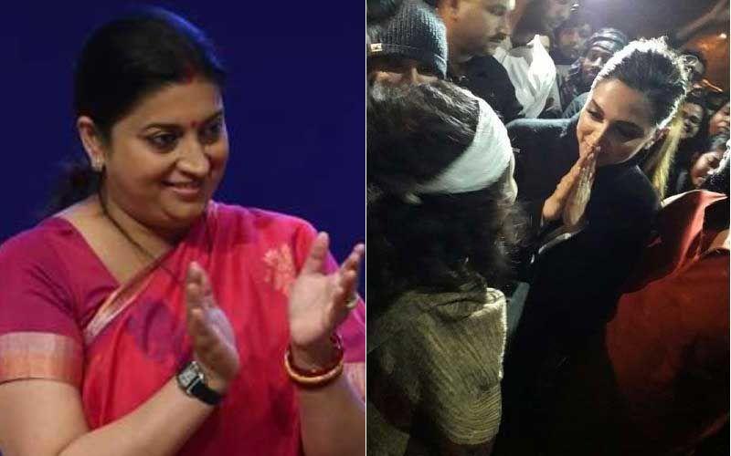 Smriti Irani On Deepika Padukone's JNU Visit, 'You're Standing With People Who Want Destruction Of India'- Video